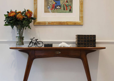 Penman Interiors Chelsea London Living Room Console Table Wall Mounted