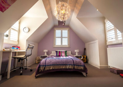 Penman Interiors Dulwich London Bedrooms Lilac