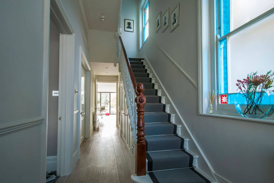 Penman Interiors Dulwich London Staircase Runner Hallway